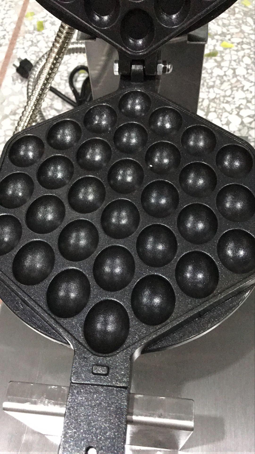 Envío gratuito eléctrico 110 V 220 V Bubble Egg Waffle Maker Hong Kong Waffle Machine Egg Puffs