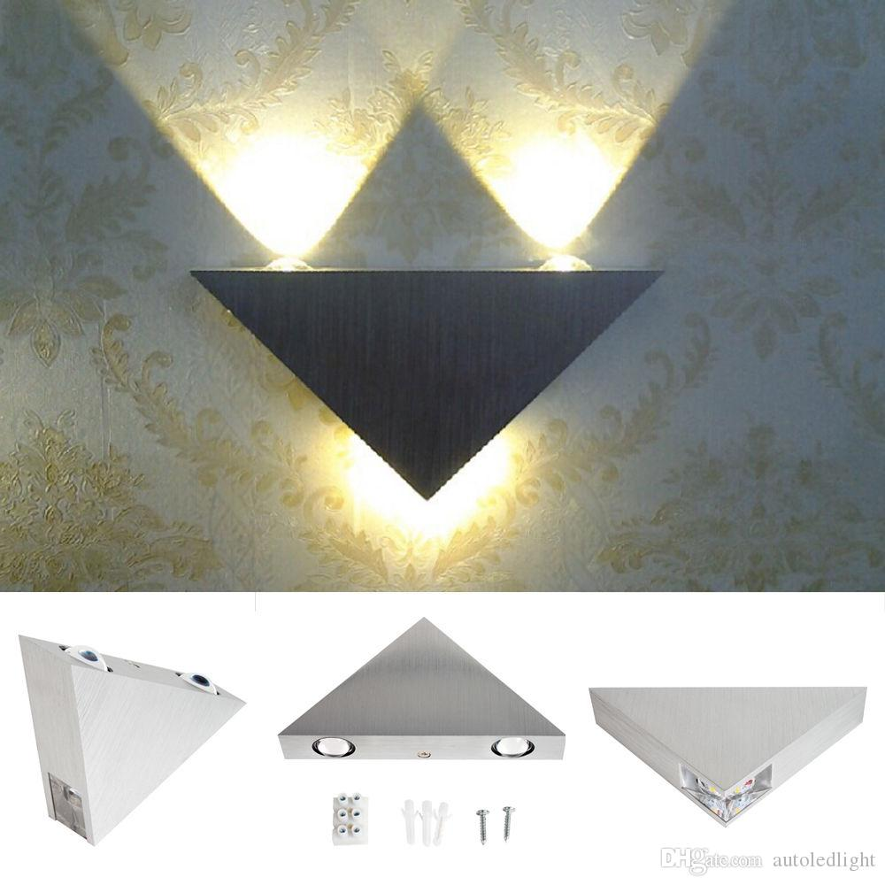 2018 triangle led wall sconces light fixture bedroom porch hotel canteen modern lamp outdoor lighting wall lamps from autoledlight 23 62 dhgate com
