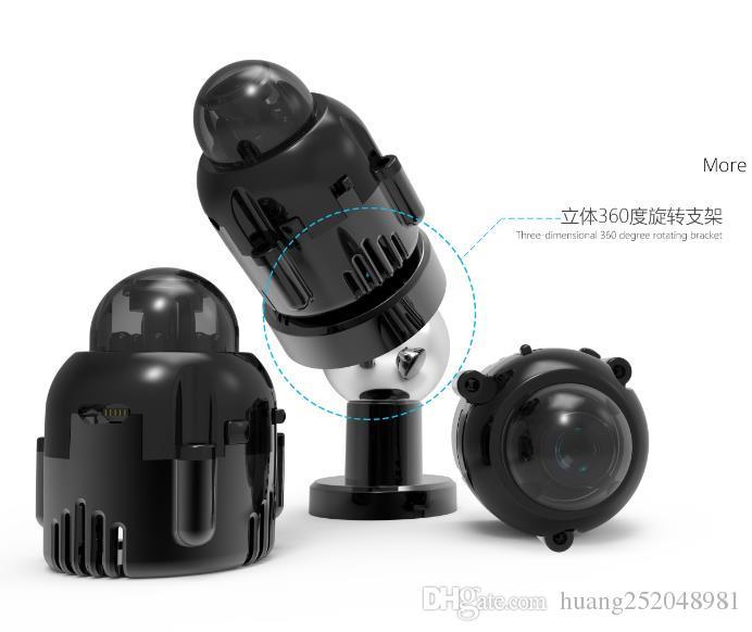 2017 Nuevo súper pequeño 1080P HD IR Visión Nocturna Inalámbrica IP Inalámbrica Cámara de bala Oculta Vigilancia de Seguridad Cámara Actived Motion