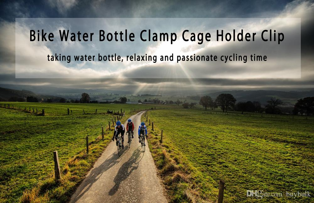 Outdoor Fahrrad Wasserflasche Clamp Cage Holder Adapter Übergang Socket Lenkerhalterung Für Rennrad und Mountainbike