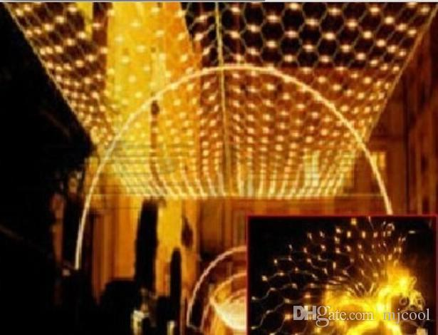 10x6m 1920 leds net lights indooroutdoor landscape lighting christmas new year garlands waterproof led string ac110v 220v christmas light strings string