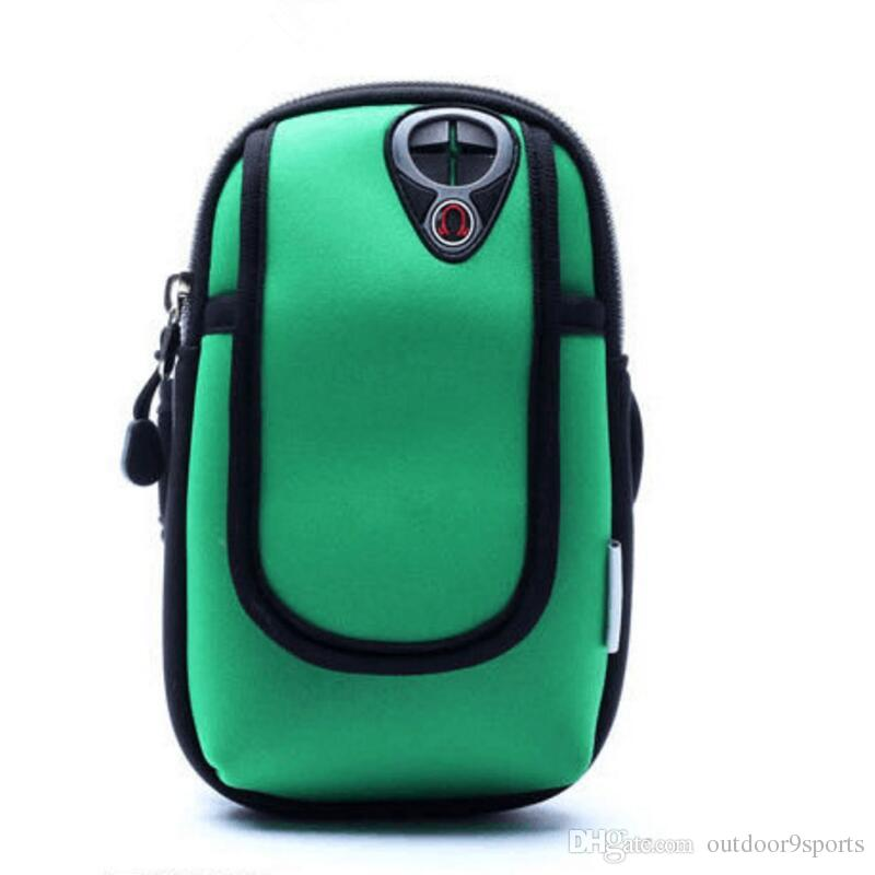 Multi-functional cellphone card bag outdoor sports mobile phone arm running riding waterproof arm package light small bags
