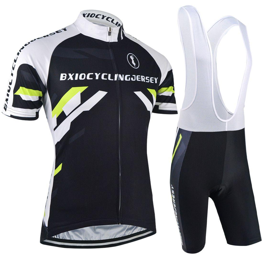 Shorts S-3XL Bib Panda Fashion Cycling Bike Short Sleeve Clothing Set Jersey