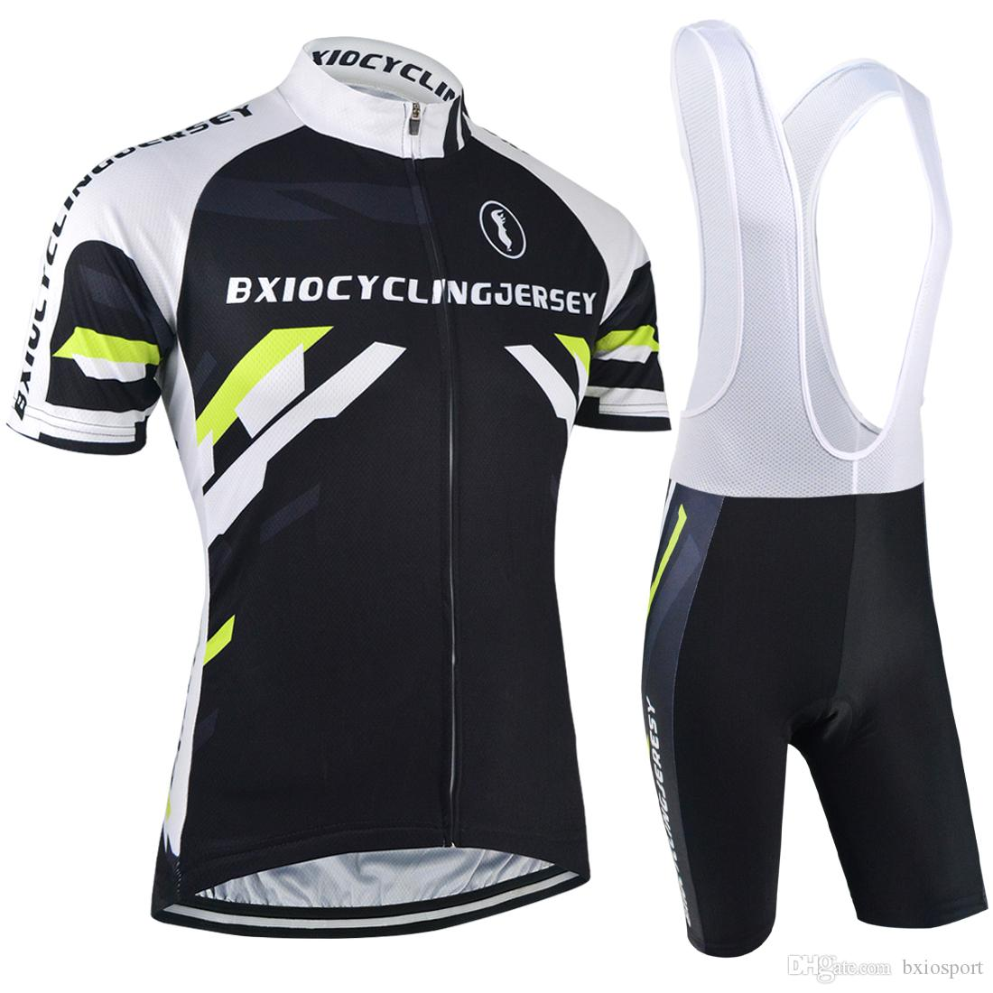 BXIO Brand Black Lycra Bike Clothing Sets Cool Mountain Cycling ... e816a6d51