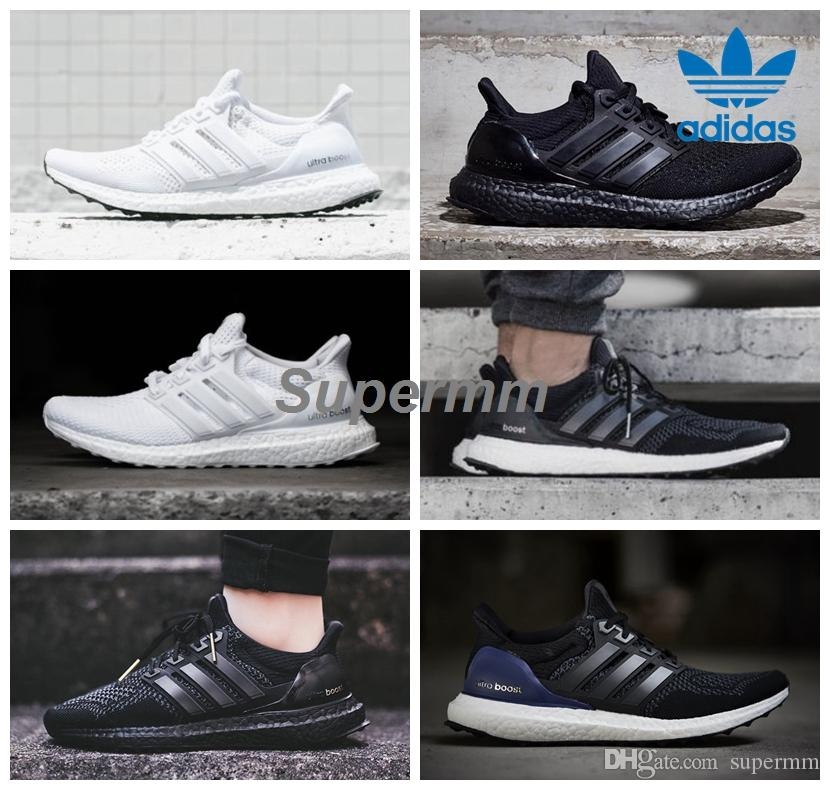 afae64522b120 adidas ultra boost 30 triple black authentic vs fake adidas consortium stan  smith primeknit black
