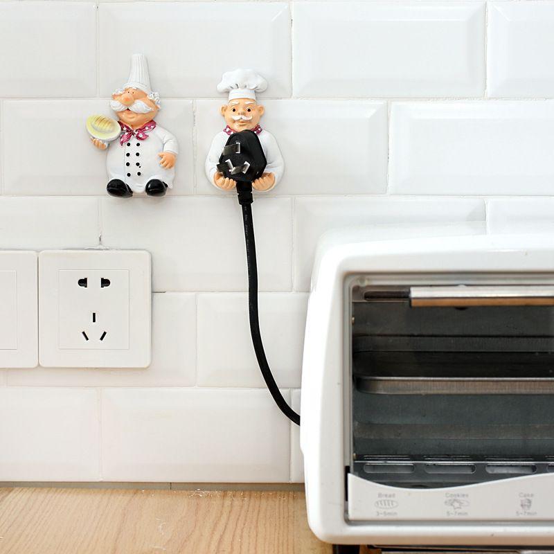 2018 Cartoon Kitchen Resin Power Cord Socket Storage Rack Sticky Plug Hook  Socket Hooks Bracket From Grace55, $2.52 | Dhgate.Com