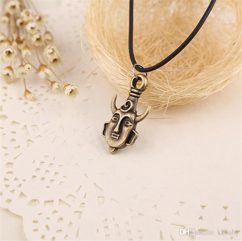 Fashion Men Necklace Amulet Pendant Supernatural Jensen Ackles Dean Winchester Protection Necklace For Men's Statement Necklace Jewelry