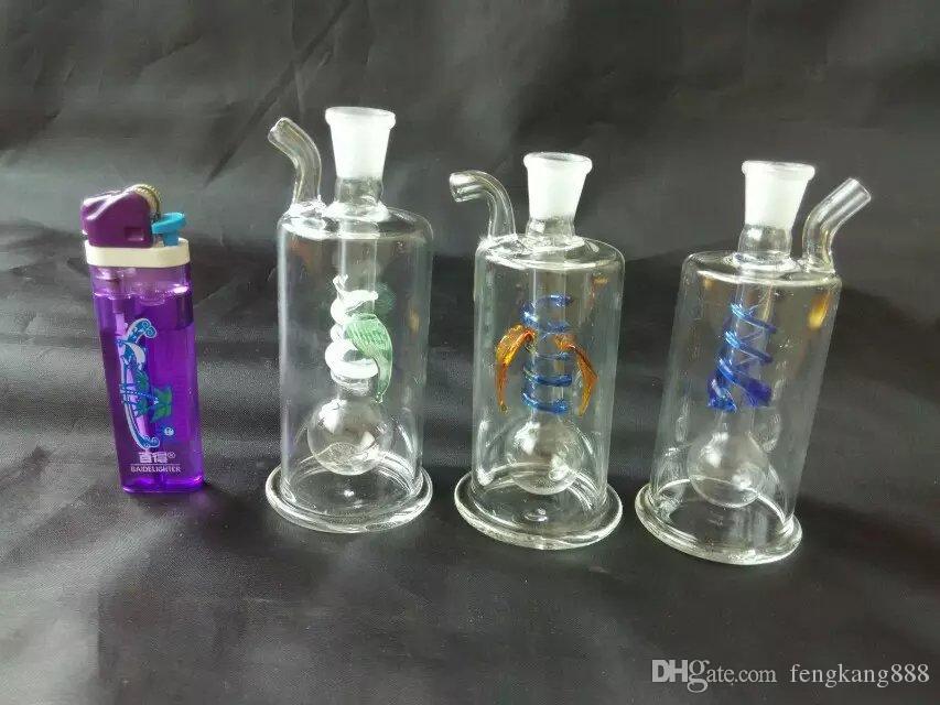Разноцветные многоцветные кальян стеклянные бонги аксессуары , стеклянные курительные трубки красочные мини многоцветные ручной трубы Лучшая ложка глас