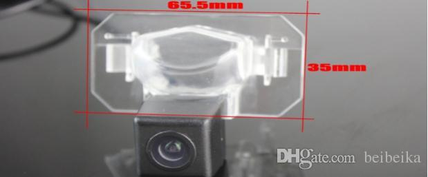 Car Camera For Honda Civic Sedan Rear View Camera / HD CCD RCA NTST PAL / Reverse Hole OEM
