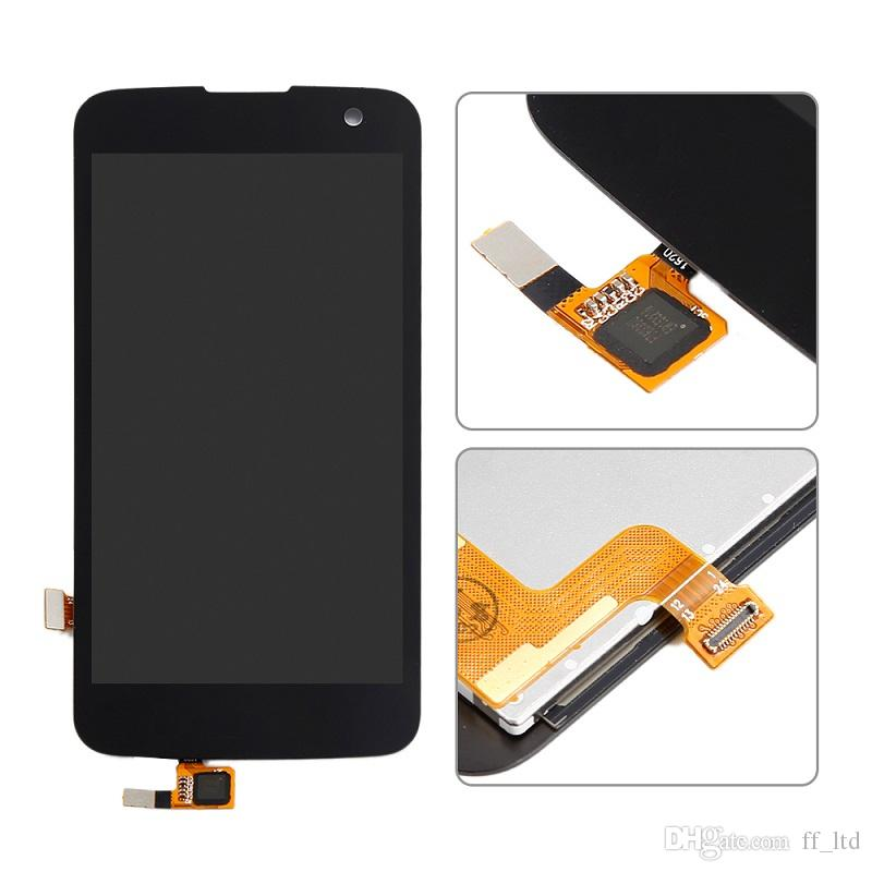OEM LCD Repair for LG K4 LTE K120AR K120E K121 K130E LCD Display Digitizer with Touch Screen Full Assembly Replace 100% Tested