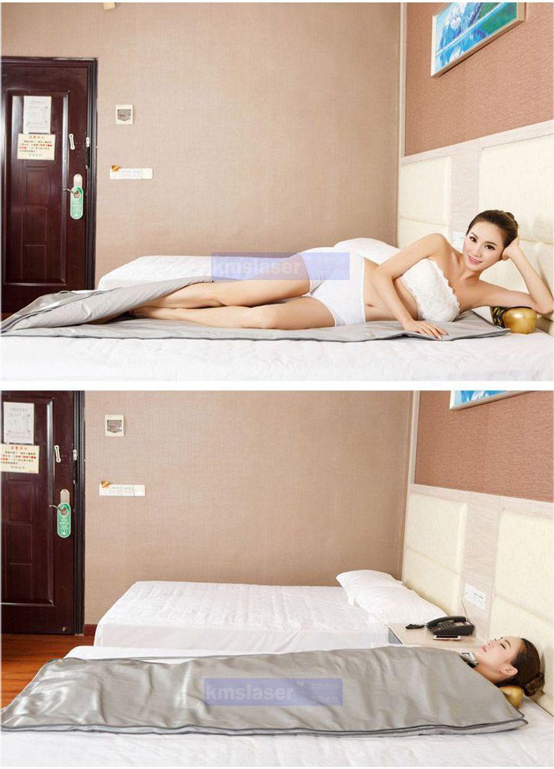 NewModel 2 Zone Air Sauna Far Abraring Body Slimming SaunblableKet Riscaldamento terapia Slim Bag Spa Macchina perdita di peso
