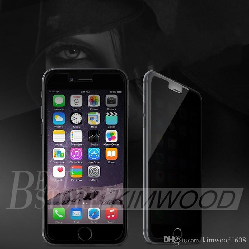 Privacy Tempered Glass For Samsung J1 ACE J2 J3 J5 J7 2016 J110 J310 J510 J710 High-Quality Screen Protector Anti-Spy Paper Package DHL