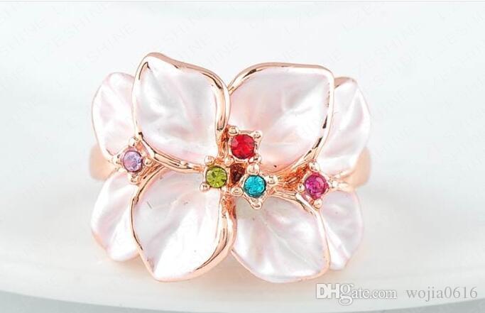 Italina Rigant New Ariival Genuine Austrian Crystal Ring For Women With Swarovski Crystal Stellux Utopia Jewelry #RG95676