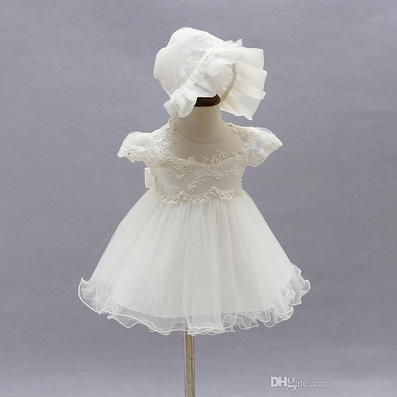 85826dab64d8 Toddler Girl 1 Year Birthday Party Dresses Princess Baby Girl Dress ...