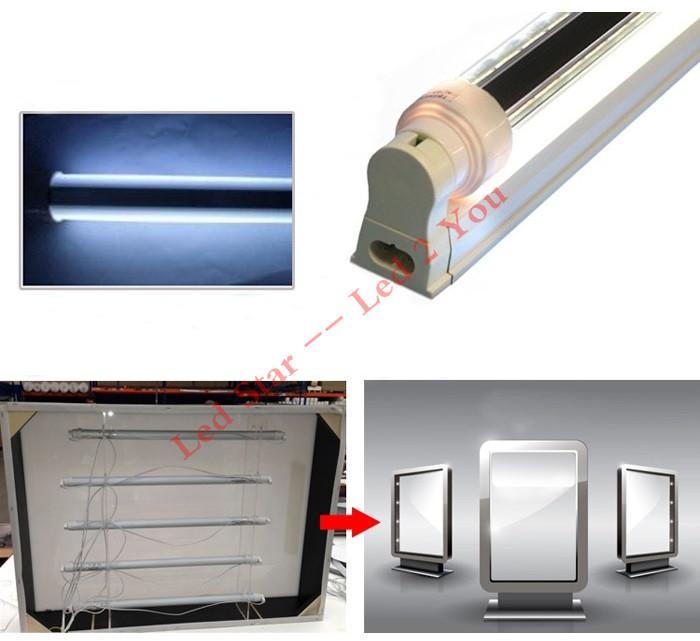 360 Grad ausstrahlendes T8 führte Rohre beleuchtet 28W G13 R17D drehende 4ft führte Licht-Rohr-Lampe für Zeichen-Kasten-Beleuchtung