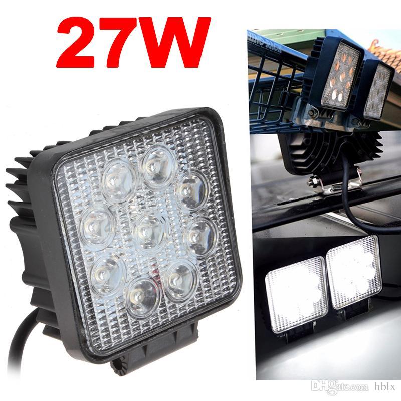 1X 36W LED WORK LIGHT 1800lm SPOT LAMP 12V 24V Boat ATV Bike SHIP Boat SUV 4X4