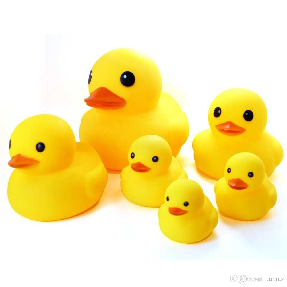 2018 Puzzle Toys Wholesale Small Yellow Duck Baby Pinch Called ...