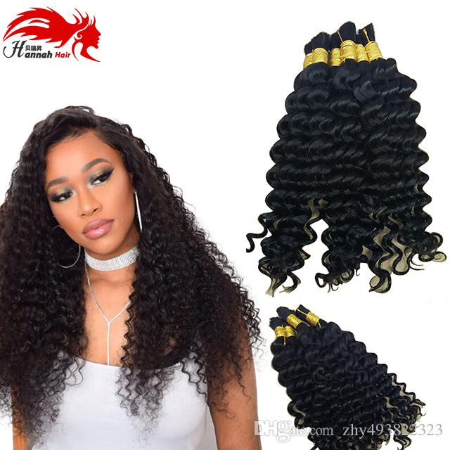 Hannah deep weave bulk braiding hair 100 human hairmicro braids see larger image pmusecretfo Gallery