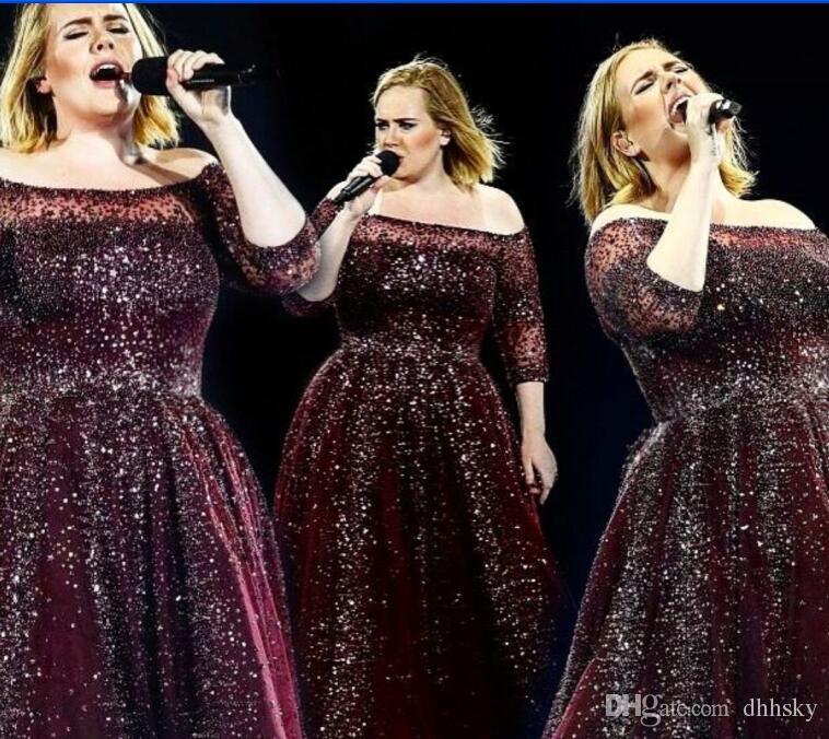 Evening dress Yousef aljasmi Kim kardashian Slash Neck Bateau Crystal Ball gown Long dress Almoda gianninaazar ZuhLair murad ..