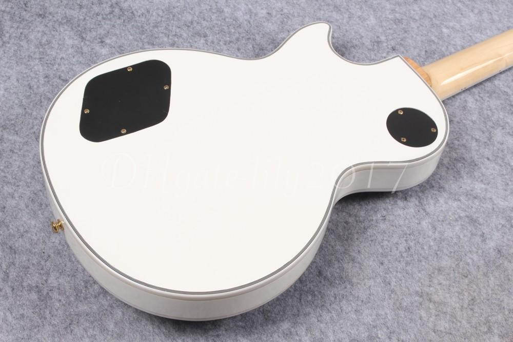 2017 nouvelle boutique personnalisée Zakk Wylde Bullseye guitare électrique, guitare Bullseye blanche, micros actifs, livraison gratuite
