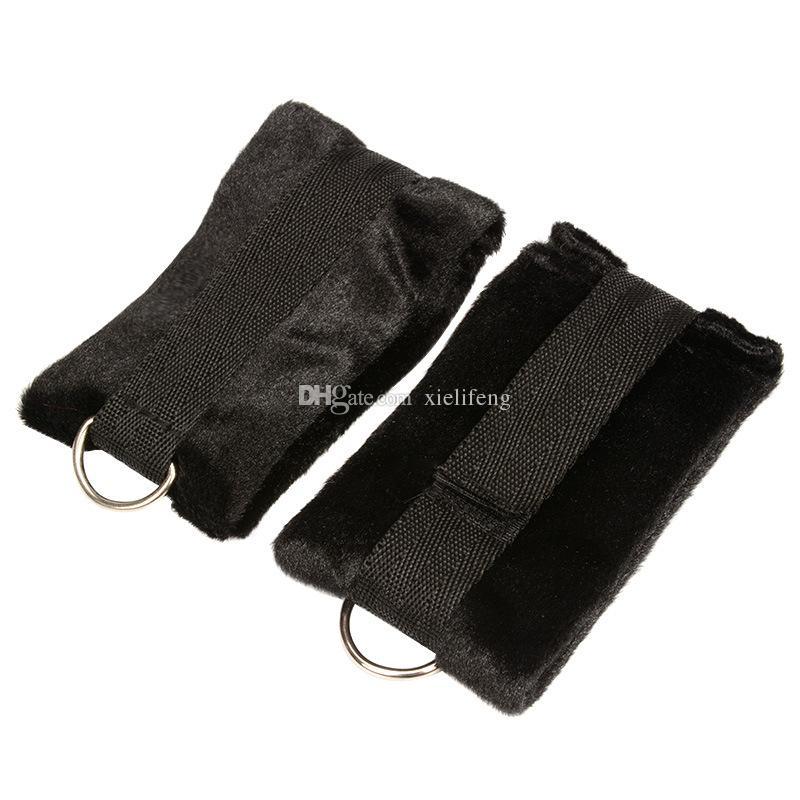Unter der Matratze Rückhaltesystem mit Handschellen Handschellen BDSM Bondage Gear Adult Sex Toys Produkte für Paare Sexual Play XLF1145