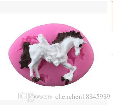 Wholesale horse fish goose owl liquid Silicone Fondant lace Mould 3D Soap Candle Chocolate Candy Cake decoration Polymer clay baking DIY