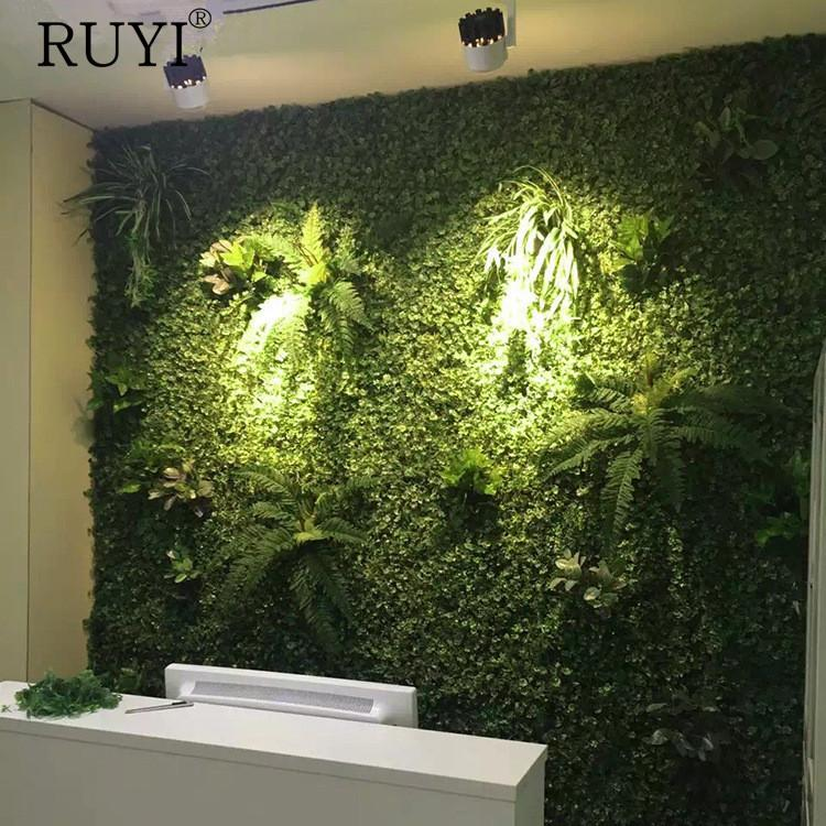 40*60 Artificial Green Plant Background Wall For Home Company Building Wall  Decoration Decorate Material Artificial Green Plants Artificial Green  Decoration ...
