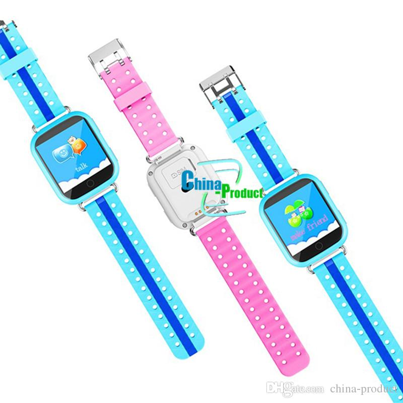Q100 Q750 Bluetooth child Smartwatch with WiFi GPS AGPS LBS BDS for iPhone IOS Android Smart Phone Wear Clock Wearable Device Smart Watch