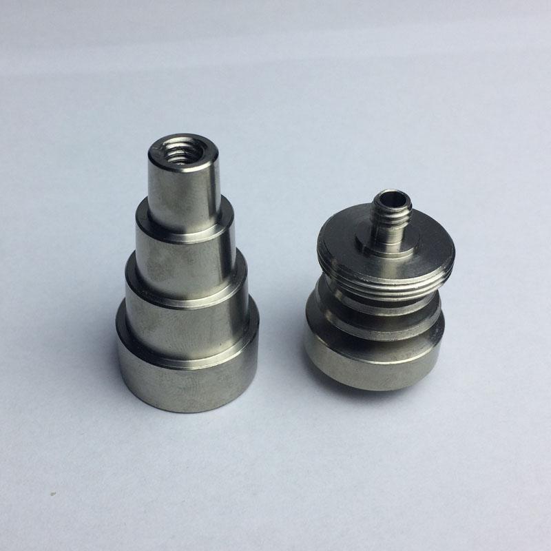 6 en 1 mâle femelle joint GR2 universel Domeless titanium Nail 10mm 14mm 18mm pour verre Bongs Pipes à eau Dab Rigs