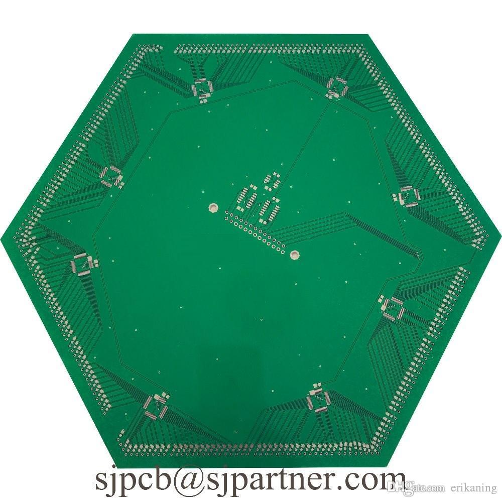 2018 Fr4 Double Printed Circuit Board Electronic Assembly And Pcb Multilayer Blind Buried Via From Erikaning 9935