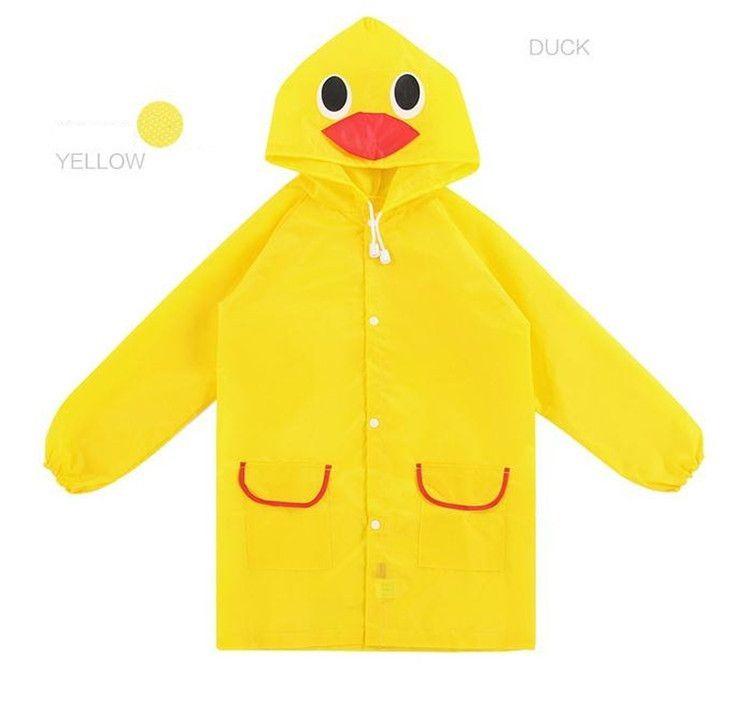 New Funny Rain Coat Bambini bambini Impermeabile Kids Rainwear Impermeabile poncho Animal Impermeabile cartoon impermeabile IA024
