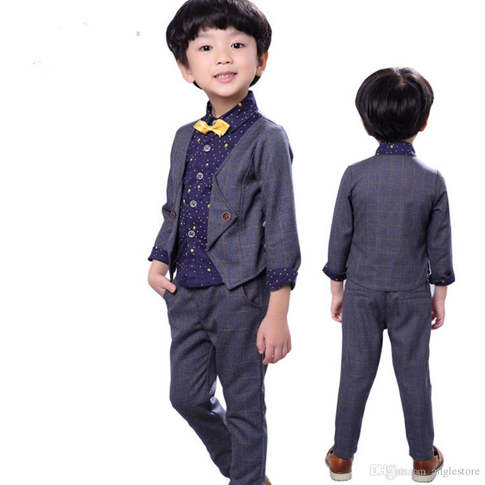 2018 Baby Boy Clothes Spring 2017 Formal Kids Clothes Suit