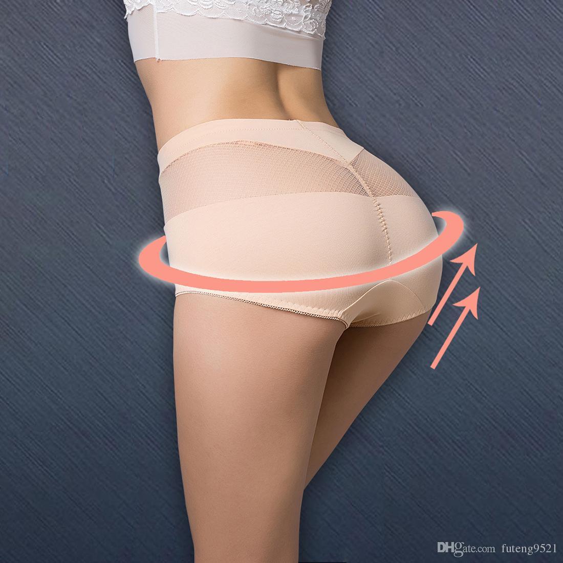 b553d84e228 Pure Color High Waist Panties Cotton Briefs Women Sexy Underwear ...