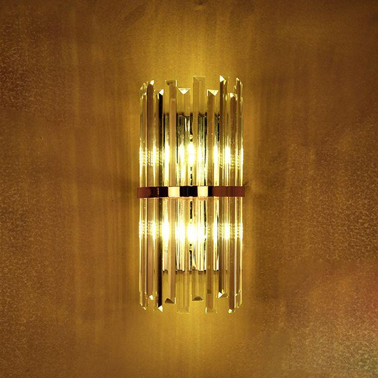 applique da parete in cristallo k9 lampada da parete per camera da letto  con interruttore soggiorno sala da pranzo led applique da parete sala ...