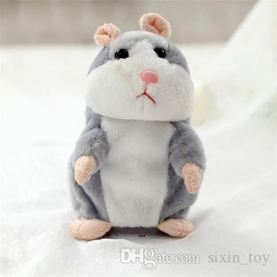 Hot Sale Talking Hamster From China Mouse Pet Plush Toy Birthday Gift for Kids