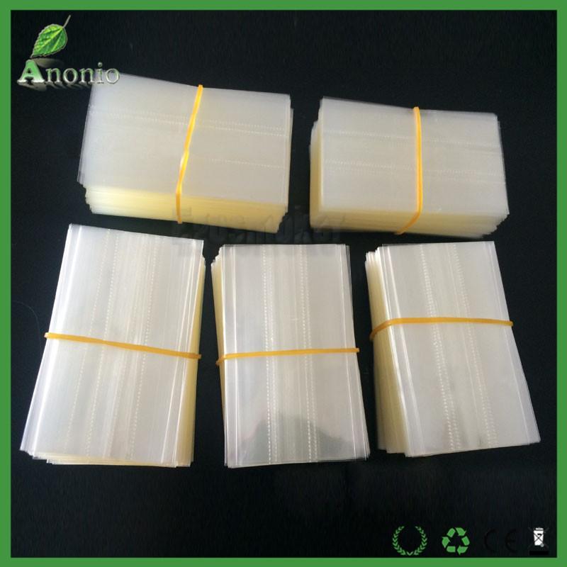 Clear PVC selos Shrink wrap para 5 ml 10 ml 15 ml 20 ml 30 ml 50 ml Para e garrafas de vidro líquido conta-gotas encolher rótulo luva encolher envoltório filme