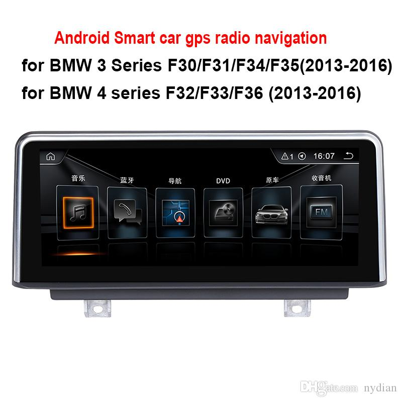a17be8533469 8.8 10.25 Inch Android Car Radio Stereo For BMW 3 Series F30 F31 F34 2013  2016 4 Series F32 F33 F36 2013 2016 GPS Navigation No Car Dvd Portable Dvd  Player ...