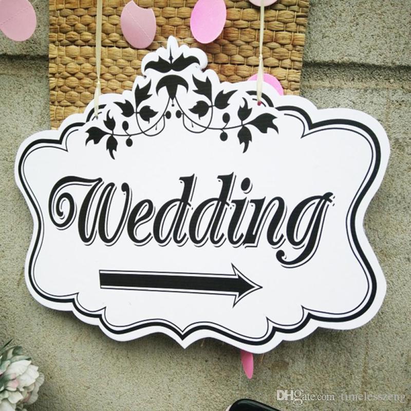 Свадьба знак карточная доска творческий деревянная свадьба индикатор признаки Ловец снов свадебные украшения реквизит поставки