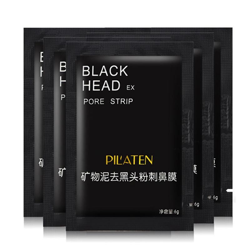 Pilaten Yüz Mineralleri Conk Burun Siyah Nokta Remover Maske Gözenek Temizleyici Burun Siyah Kafa Ex Gözenek Şeridi