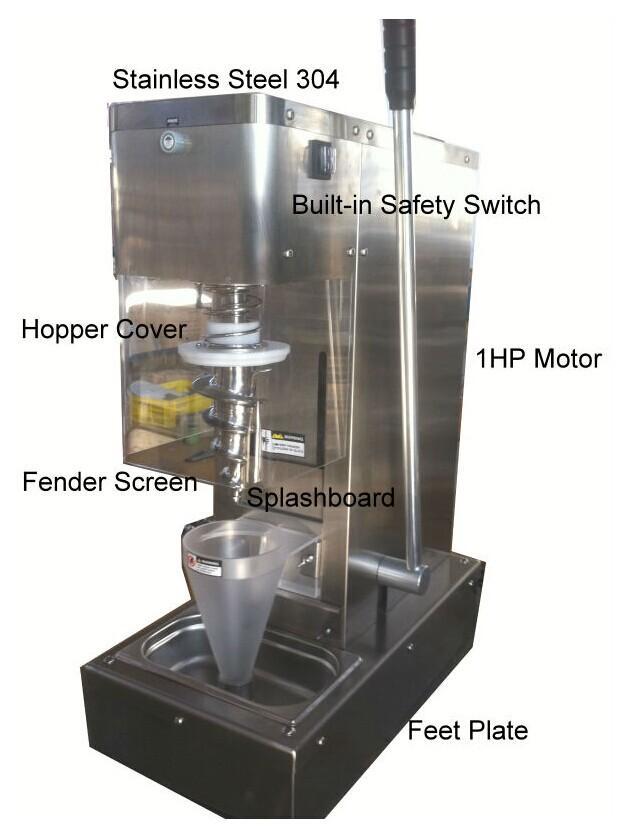 요구르트 기계 과일 아이스크림 혼합기