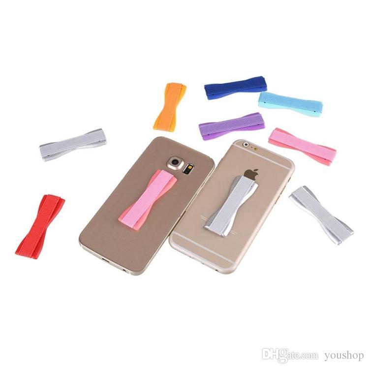Handy Sichere Finger Grip Universal Anti-Rutsch Hand Finger-Bügel-Telefon-Halter für iphone 7 7plus für ipad pro mini 4