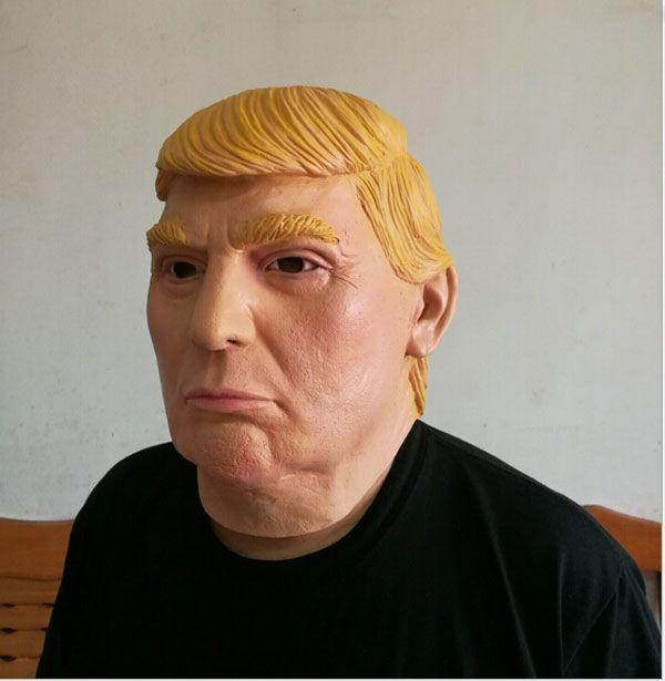 Maschera mascherata all'ingrosso Presidente USA Candidato Signor Trump Maschera in lattice Maschera in lattice Billionaire Presidenziale Donald Trump Maschera in lattice