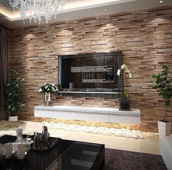 Rustic Modern 3d Room Faux Brick Wall Wallpaper Bedroom Vinyl Waterproof Paper Home Decor For Bathroom And Kitchen Screwbrick Tongsbrick