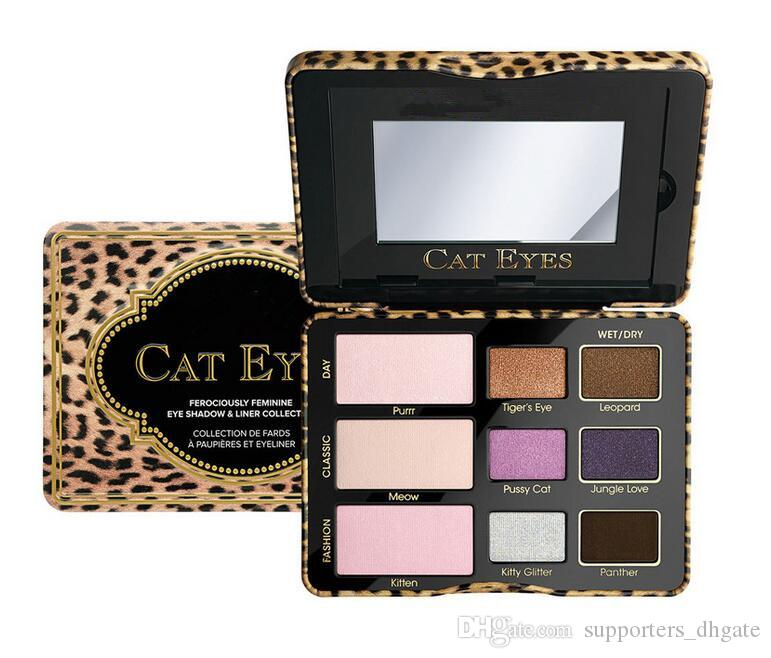 Makeup eyeshadow palette sugar pop cat eyes totally cute faced sweet peach eye shadow cosmetics dhl