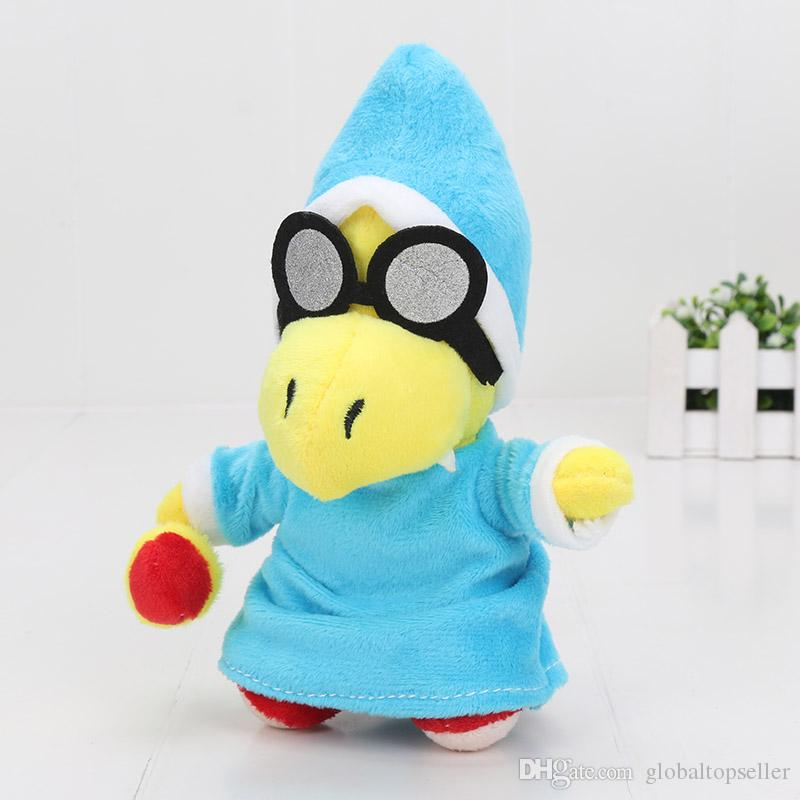 "7"" 18cm Super Mario Bros Plush Doll Soft Toy Gift- Kamek Magikoopa Soft Toy Stuffed Animal"