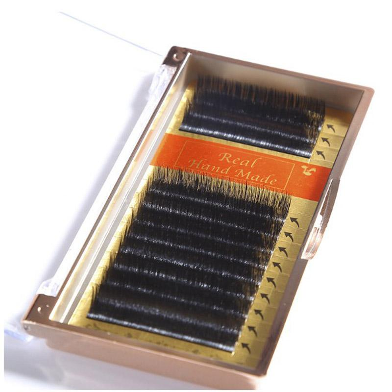 100% Mink eyelash extension individual eyelash extension,real mink natural eyelashes soft 8-12mm J/B/C Curl