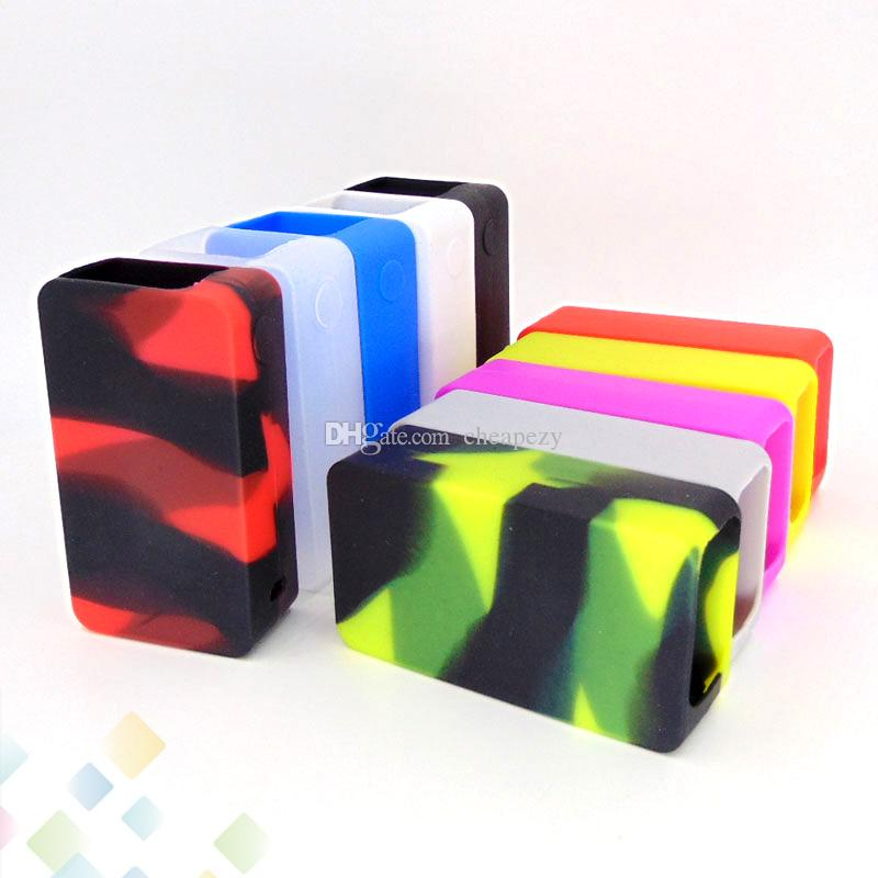 Snowwolf 200W Plus Box Mod Proect Case Soft Silicone Rubber Carry Bag Cover for Snowwolf 235W Max Power Protective Skin DHL Free