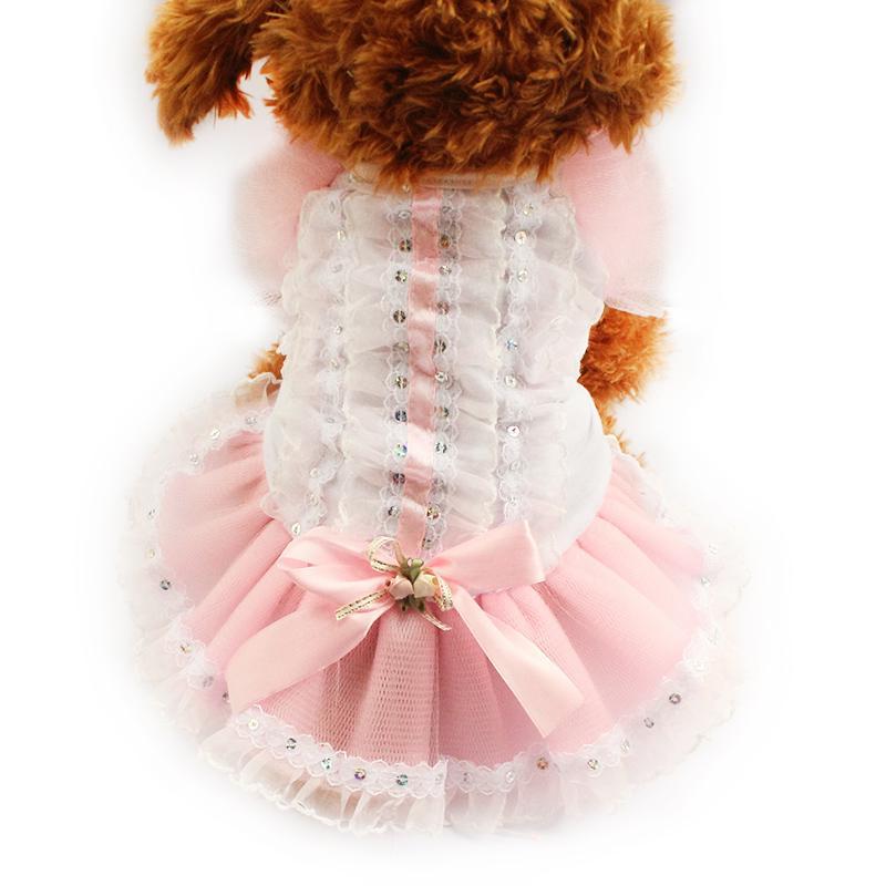 200ec05fa armipet Puff encaje Vestidos formales para perros Perros Princesa Falda  6071017 Ropa para cachorros Suministros de vestimenta XS, S, M, L