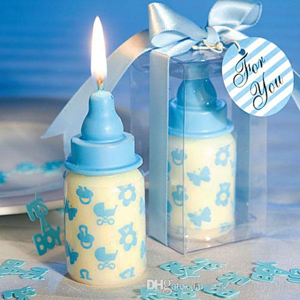 Milk Bottle Birthday Candle Favors Baby Shower Wedding Favors Party Gifts  Centerpieces Giveaway Accessories Decorative Candles Favors Battery  Operated ...