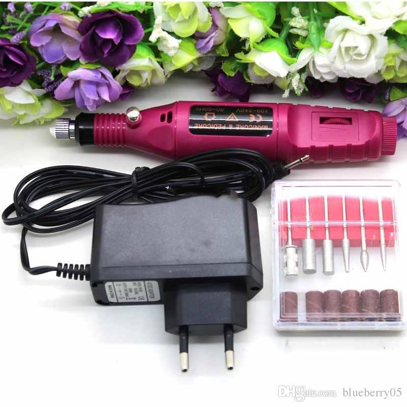 Hot Sale mini electric sander Grinding machine pen sanding machine Gundam nail polishing Tools high quality nail art kits